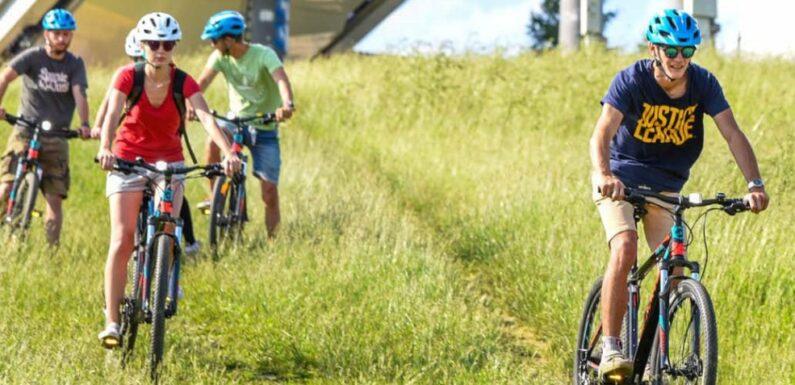Zwiedzanie Tatr na rowerze